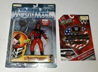 Jakks 1998 WWF Mattel Figure NEW Fully Loaded Kane Autographed moc