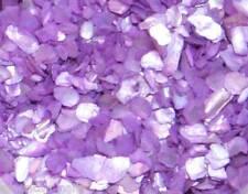 1 boite de Paillette NACRE Violet bijoux d'ongle Nail Art