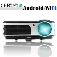 Built-In Android WiFi Home Theater LED Projector 1080p HD Video HDMI USB WLAN