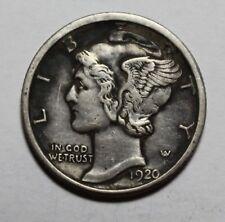 1920 D Mercury Dime BT15