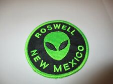 "ROSWELL UFO ALIEN ""1"" PATCH SOUVENIR COLLECTIBLE 3.25 X 3.25 INCHES #32"
