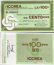 ICCREA 14/1/1977 S.MARCO.DI.V.AL.SPA - MESTRE  L.100 FDS