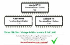 Alesis HR16 / HR16B - Soundchip Upgrade Novation Drum Station kit incl. OS 2.0