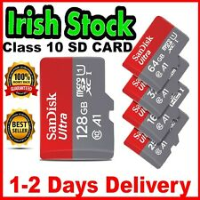 ORIGINAL SanDisk SD Card 16 32 64 128 GB Class 10 Fast Mini SD Micro High Tested