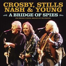 CROSBY STILLS NASH & YOUNG 'A BRIDGE OF SPIES' (Bridge School 1988) CD (2020)