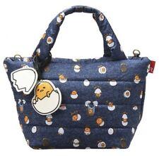 Gudetama Soft Tote Bag Handbag Shoulder Purse Pouch Sanrio From Japan Z7257