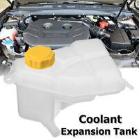 Engine Coolant Expansion Tank Radiator Reservoir & Cap For Ford Fiesta V Fusion
