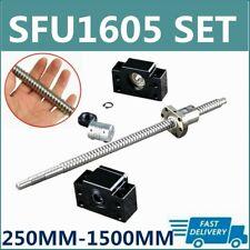 Rm1605 Sfu1605 250mm 1500mm Ballscrew Bkbf12 Support 635x10mm Coupler C7 Set