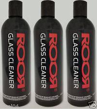 X3 ROOR Glass Cleaner Bottles - 12oz each