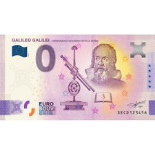 ANNIVERSARY - Billet Touristique Euro Souvenir '' Galileo Anniversary '' 2020