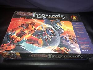 Avalon Hill Stratego Legends Shattered Lands Game Complete Extra Booster Pieces