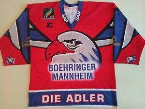 ADLER MANNHEIM GERMANY #44 PENNEY ICE HOCKEY SHIRT JERSEY STARTER SIZE XXL
