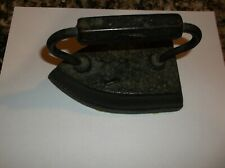 Iron with Metal Handle Vintage  Sad iron Cast Kitchen Flat Irons Antique Old