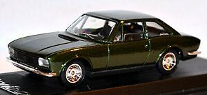 Peugeot 504 Coupe Pininfarina 1969-74 Green Metallic 1:43