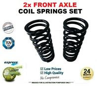 2x FRONT Axle COIL SPRINGS for NISSAN PRIMASTAR Box dCi 100 2002->on