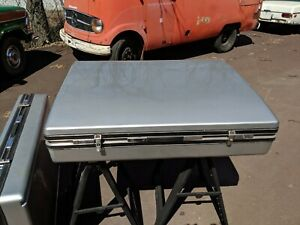 Mercedes Benz W123 300td 280te Factory Wagon Roof Luggage Boxes OEM Oris