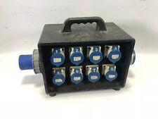 63amp single phase to 8 x 16amp distribution box EX- Arri lighting rental