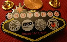 Smith And Wesson Thompson Center 2014 Shot Show Hat Lapel Pin