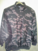 Men's KingSize KS Quarter Zip Pullover Camo Sweatshirt Sweater 4XL Big and Tall