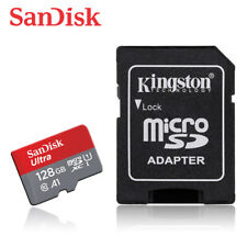NEW SanDisk 128GB Ultra MicroSDXC A1 UHS-I C10 TF Memory Card for Phone +ADAPTER