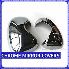chrome wing door mirror cover cup for Vauxhall Vivaro 2001-2014