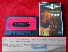 MC Peter Maffay - LIVE - Musikkassette Cassette