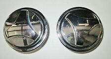 1970 MUSTANG HOOD TWIST LOCKS ( SOLD AS PAIR ) 2NDS