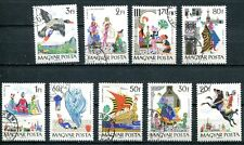 HUNGARY 1965 FAIRY TALES - BLACK STALLION - HORSE - BIRD - SHIP SET COMPLETE!