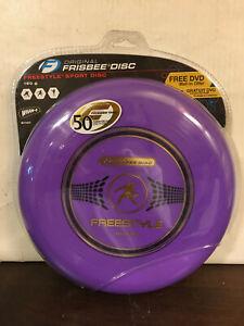 Original Frisbee Disc, Freestyle Sport 160 grams, New, Wham-O, 81101, Blue, 2006