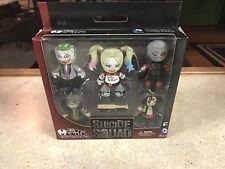 Suicide Squad Vinyl Box Set Mini Mez-itz 5Pack HARLEY JOKER CROC DEADSHOT KATANA