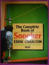 The Complete Book of SNOOKER by EDDIE CHARLTON HB BOOK + Trick Shots & Winning