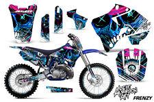 AMR Racing Yamaha YZ 125/250 Graphic Decals Number Plate Kit Bike MX 96-01 FRENZ