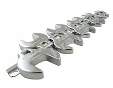 10PC 3/8 DRIVE CROWFOOT WRENCH SET with Holder- Metric