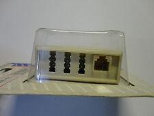 Telefonadapter TAE 6(4) F-Stecker - NFN Kupplung und RJ11