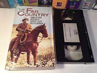 The Far Country Rare Classic Western VHS 1954 OOP HTF Stewart Brennan Roman