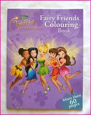 DISNEY TINKERBELL - ACTIVITY COLOURING IN BOOK Fairy Rescue Colour Color FAIRIES