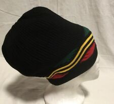 Rasta Dreadlocks Tams Hat Black Rgy For Men And Women
