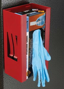 Magnetic Glove Tissue Wipes Dispenser Holder for Disposable Nitrile Latex Gloves