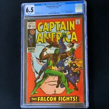 Captain America #118 (1969) 💥 CGC 6.5 WHITE Pages 💥 2nd App of FALCON! Comic