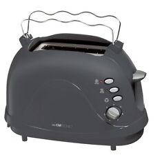 CLATRONIC Toaster Toastautomat Brötchenaufsatz Krümelschublade Auftaufunktion