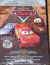 DISNEY PIXAR-CARS -WALL-MART GEARED UP BONUS (DVD)-- NEW