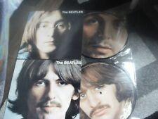 33T PICTURES DISCS VOL 1 + VOL 2  THE BEATLES  THE WHITE ALBUM  MINT CONDITION