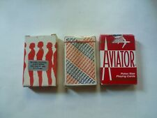 Vintage Playing Cards.American Airlines.The Kobal Collection.Aviator