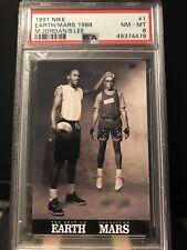 1991 Nike Michael Jordan Spike Lee Earth Mars 1988 #1 PSA 8 NM-MT