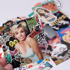 Stickerbomb Mega Mix aus 100 Retro und Sponsoren-Stickern  Aufkleber Decals POP