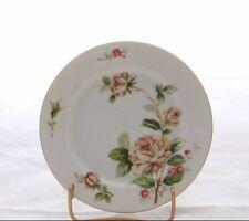 "Lynmore Fine China Bread / Dessert / Salad Plate Golden Rose Pattern 6 1/2"" #5"