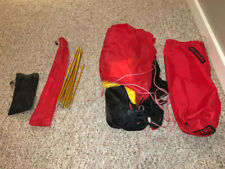 Hilleberg Akto Tent. Red, 4-Season w/ Ground Cloth, Pristine Condition.