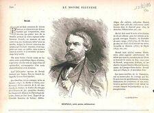 Charles Albert d'Arnoux Bertall Tortu-Goth Illustrateur Graveur GRAVURE 1883
