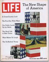 ORIGINAL Vintage Life Magazine January 8 1971 New Shape of America