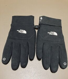 THE NORTH FACE Unisex Black ETip U/R Powered Gloves Size Large New W/O Tags